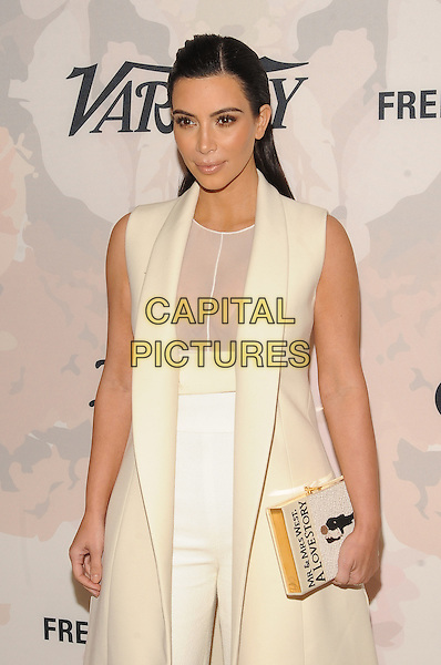 New York,NY- April 24: Kim Kardashian West attends Variety's Power of Women New York at Cipriani 42nd Street on April 24, 2015 in New York City. <br /> CAP/MPI/STV<br /> &copy;STV/MPI/Capital Pictures