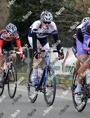 2012-03-03 / Wielrennen / seizoen 2012 / Nieuwelingen / Jef Verstralen, Turnhout..Foto: Mpics.be