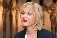 FILE PHOTO -  TV host and actress Vanessa Pilon<br /> <br /> <br /> <br /> Photo : Josie Desmarais - Agence Quebec Presse