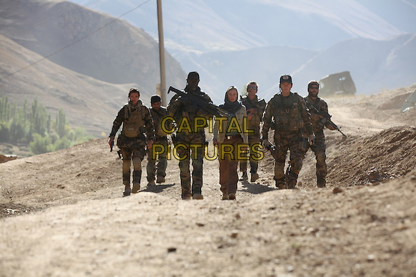 Denis Menochet, Raphael Personnaz, Djimon Hounsou, Diane Kruger<br /> in Special Forces (2011) <br /> (Forces speciales)<br /> *Filmstill - Editorial Use Only*<br /> CAP/NFS<br /> Image supplied by Capital Pictures