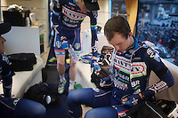 Although Dimitri Claeys (BEL/Wanty-Groupe Gobert) is getting ready for the biggest race in his career, he will be racing with a heavy heart as it will be the first race of the team after the death of teammate Antoine Demoitié the week prior (in Gent-Wevelgem).<br /> Maybe motivated by the circumstances Claeys managed a breakthrough performance later that day as he finished 9th in his very first Ronde (and 1st rider of a Pro-Continental Team).<br /> <br /> 100th Ronde van Vlaanderen 2016