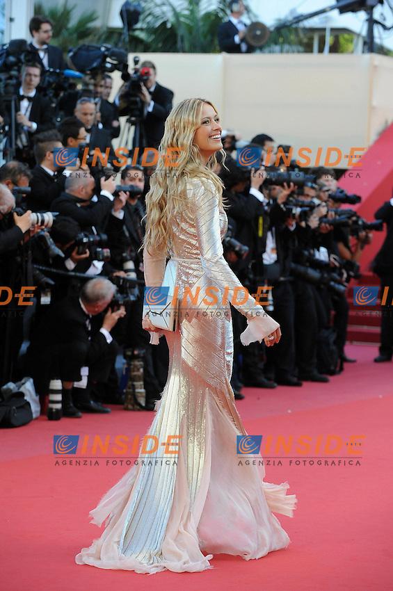 Petra Nemcova .Cannes 21/5/2013 .66mo Festival del Cinema di Cannes 2013 .Foto Panoramic / Insidefoto .ITALY ONLY