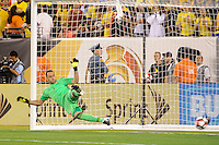 East Rutherford, NJ - Friday June 17, 2016: David Ospina during a Copa America Centenario quarterfinal match between Peru (PER) vs Colombia (COL) at MetLife Stadium.