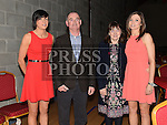 Paula Murray, Pat, Nuala and Susan Byrne pictured at St Kevin's GAA Club annual awards night in Phillipstown community centre. Photo:Colin Bell/pressphotos.ie