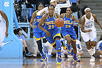 16 November 2014: UCLA's Nirra Fields (CAN) (21). The University of North Carolina Tar Heels hosted the University of California Los Angeles Bruins at Carmichael Arena in Chapel Hill, North Carolina in a 2014-15 NCAA Division I Women's Basketball game. UNC won the game 84-68.