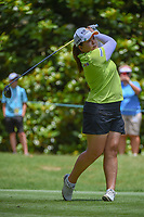 Inbee Park (KOR) watches her tee shot on 3 during round 4 of the U.S. Women's Open Championship, Shoal Creek Country Club, at Birmingham, Alabama, USA. 6/3/2018.<br /> Picture: Golffile | Ken Murray<br /> <br /> All photo usage must carry mandatory copyright credit (&copy; Golffile | Ken Murray)