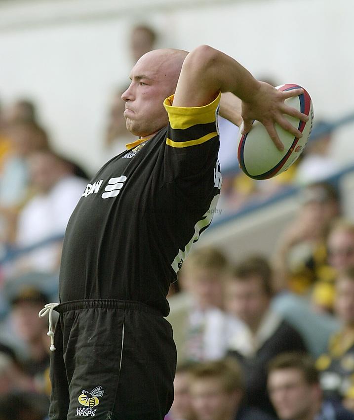 Photo:Ken Brown.19.8.2000 Wasps v Leicester.Phil Greening