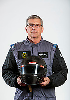 Feb 5, 2020; Pomona, CA, USA; NHRA pro stock driver Kenny Delco poses for a portrait during NHRA Media Day at the Pomona Fairplex. Mandatory Credit: Mark J. Rebilas-USA TODAY Sports