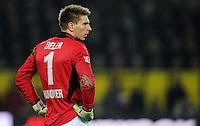 FUSSBALL   1. BUNDESLIGA   SAISON 2011/2012   23. SPIELTAG Borussia Dortmund - Hannover 96                        26.02.2012 Torwart Ron Robert Zieler (Hannover 96) enttaeuscht