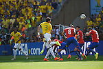 Thiago Silva (BRA), JUNE 28, 2014 - Football / Soccer : FIFA World Cup Brazil 2014 round of 16 match between Brazil and Chile at Estadio Mineirao in Belo Horizonte, Brazil. (Photo by FAR EAST PRESS/AFLO)