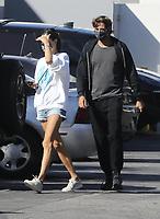 SANTA MONICA, CA - MAY 18: Alessandra Ambrosio and boyfriend  Nicolo Oddi Seen Picking Up Groceries at Erewhon Market in Santa Monica, California on May 18, 2020. <br /> CAP/MPI99<br /> ©MPI99/Capital Pictures