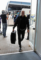 Pictured: Francesco Guidolin, Manager of Swansea City  arrives at the stadium Saturday 27 August 2016<br /> Re: Swansea City FC v Leicester City FC Premier League game at the King Power Stadium, Leicester, England, UK