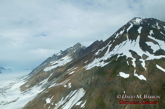 Yukon Scenic Aerial Of Mountain