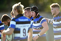 Will Britton of Bath United. Aviva A-League match, between Bath United and Saracens Storm on September 1, 2017 at the Recreation Ground in Bath, England. Photo by: Patrick Khachfe / Onside Images