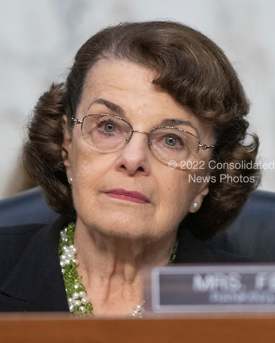 United States Senator Dianne Feinstein (Democrat of California) listens as Judge Brett Kavanaugh testifies before the United States Senate Judiciary Committee on his nomination as Associate Justice of the US Supreme Court to replace the retiring Justice Anthony Kennedy on Capitol Hill in Washington, DC on Thursday, September 6, 2018.<br /> Credit: Ron Sachs / CNP<br /> (RESTRICTION: NO New York or New Jersey Newspapers or newspapers within a 75 mile radius of New York City)