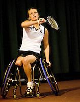 4-1-09, Renkum, NK rolstoeltennis, E Korie Homan