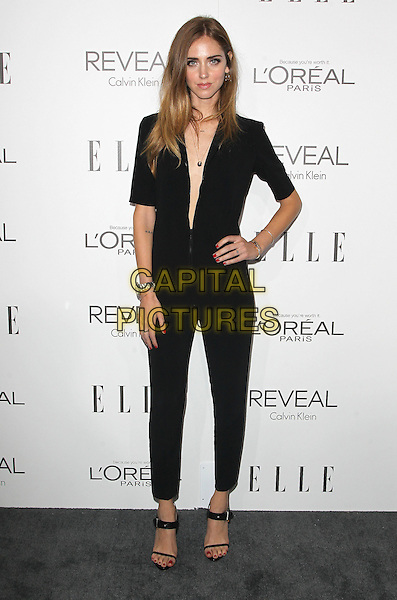 20 October  2014 - Beverly Hills, California - Chiara Ferragni. 2014 ELLE Women In Hollywood Awards held at the Four Seasons Hotel.  <br /> CAP/ADM/FS<br /> &copy;Faye Sadou/AdMedia/Capital Pictures