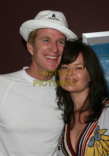 "MATTHE MODINE & EMBERLY MODINE .""The Neighbor"" World Premiere held Laemmle Sunset 5, West Hollywood, California, USA, .11 August 2008..portrait headshot white hat top .CAP/ADM/FS.©Faye Sadou/Admedia/Capital Pictures"