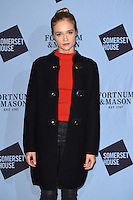 Florrie Arnold<br /> at the launch of the Skate at Somerset House ice rink, London.<br /> <br /> ©Ash Knotek  D3199  16/11/2016