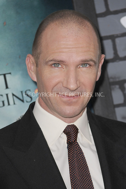 WWW.ACEPIXS.COM . . . . . .November 15, 2010...New York City...Ralph Fiennes  attends the Premiere of Harry Potter And The Deathly Hallows: Part 1 at Alice Tully Hall on November 15, 2010 in New York City....Please byline: KRISTIN CALLAHAN - ACEPIXS.COM.. . . . . . ..Ace Pictures, Inc: ..tel: (212) 243 8787 or (646) 769 0430..e-mail: info@acepixs.com..web: http://www.acepixs.com .