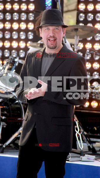 August 17, 2012 Justin Jeffre, 98 Degrees perform on the NBC's Today Show Toyota Concert Serie at Rockefeller Center in New York City.Credit:© RW/MediaPunch Inc. /NortePhoto.com<br /> <br /> **SOLO*VENTA*EN*MEXICO**<br />  **CREDITO*OBLIGATORIO** *No*Venta*A*Terceros*<br /> *No*Sale*So*third* ***No*Se*Permite*Hacer Archivo***No*Sale*So*third*