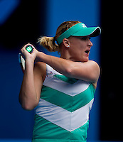 Elena Baltacha (GBR)  against Dinara Safina (RUS) (2) in the Third Round of the Womens Singles. Safina beat Baltacha 6-1 6-2..International Tennis - Australian Open Tennis - Fri 22 Jan 2010 - Melbourne Park - Melbourne - Australia ..© Frey - AMN Images, 1st Floor, Barry House, 20-22 Worple Road, London, SW19 4DH.Tel - +44 20 8947 0100.mfrey@advantagemedianet.com
