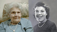BNPS.co.uk (01202 558833)<br /> Pic: SecretSpitfires/BNPS<br /> <br /> Former worker the late Joan Burrogh..<br /> <br /> A campaign to build a memorial to honour the women and children who built over 2,000 Spitfires in secret to help win the Second World War has been launched.<br /> <br /> The little-known operation involved just a few hundred people who operated in requisitioned car garages, factories and workshops in the city of Salisbury.<br />  <br /> They built the legendary aircraft in piecemeal and worked with such discretion that the Wiltshire city's inhabitants were oblivious to it. <br /> <br /> The unsung workers were so prolific they accounted for one tenth of all Spitfires produced during the war.