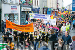 GAA Football Féile 2016  parade from  Austin Stacks Park through the Town on Saturday