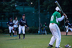 Players of Japanese and Pakistanis Teams changing interactions during the BFA Women's Baseball Asian Cup match between Pakistan and Japan at Sai Tso Wan Recreation Ground on September 4, 2017 in Hong Kong. Photo by Marcio Rodrigo Machado / Power Sport Images