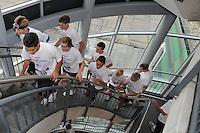 OFK TRAPLOPEN: HEERENVEEN: ABE LENSTRA STADION, 17-10-2012, Deelnemers OFK, winnaar werd Jeroen Vochteloo (#2), ©foto Martin de Jong