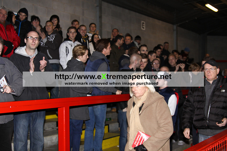 Crawley Town v Redbridge FC 3rd December 2011 FA Cup 2nd Round