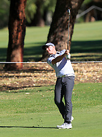 Matthew Millar (AUS) in action on the 1st during Round 2 Matchplay of the ISPS Handa World Super 6 Perth at Lake Karrinyup Country Club on the Sunday 11th February 2018.<br /> Picture:  Thos Caffrey / www.golffile.ie<br /> <br /> All photo usage must carry mandatory copyright credit (&copy; Golffile | Thos Caffrey)