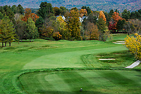 Fairway at Ekwanok Country Club, Manchester, Vermont, USA.