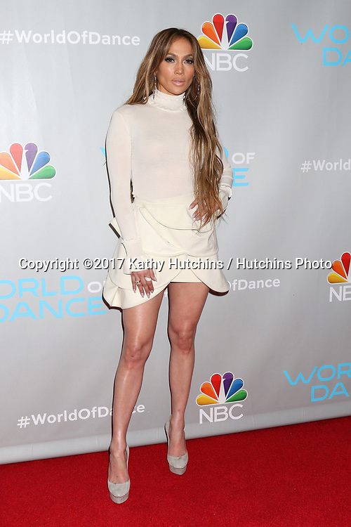 "LOS ANGELES - JAN 25:  Jennifer Lopez at the ""World of Dance"" Photo Call at Universal Studios on January 25, 2017 in Universal City, CA"