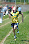 Lorcan Hughes from Boyne AC who was second in the boys under 10 one hundred meter event at the Louth Community Games Athletics Finals held at meadowview. Photo: Colin Bell/pressphotos.ie