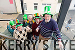 Sean Lyons, Danny Leane, Ann O'shea, Michael Gaffney, Martin Brosnan and Johnny Wall  launch the 2015 Tralee St. Patricks Day Parade