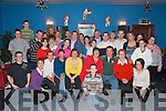 50TH CELEBRATIONS: Friends and family of Tony O'Shea, Glencar (seated front) celebrate his 50th birthday in the Rowntree bar, Glencar on Friday night.   Copyright Kerry's Eye 2008