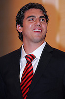 DC United defender Dejan Jakovic, at the 2011 Season Kick off Luncheon, at the Marriott Hotel in Washington DC, Wednesday March 16 2011.
