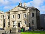Dining Hall, Trinity College university, city of Dublin, Ireland, Irish Republic