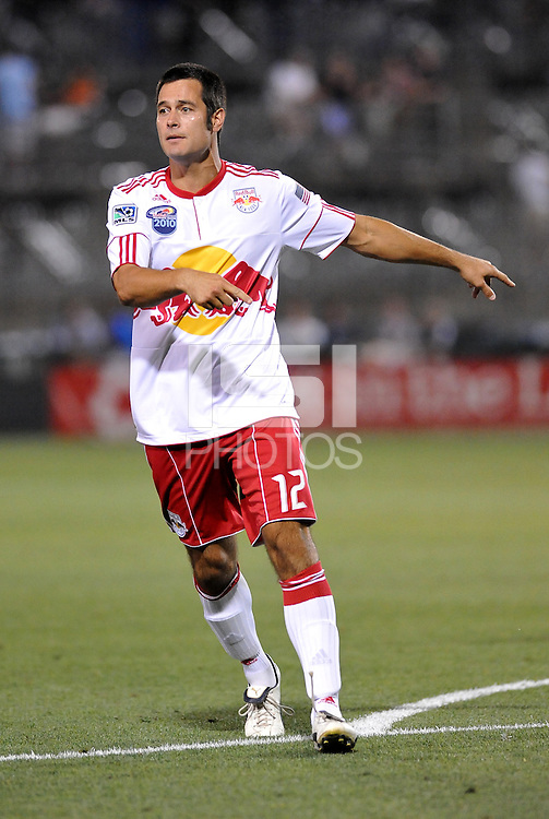 Mike Petke...Kansas City Wizards were defeated 3-0 by New York Red Bulls at Community America Ballpark, Kansas City, Kansas.