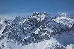 View from Lech Ski Area, St Anton, Austria