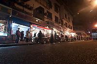 Commercial Retail Shopping Night Market In Chongqing, China.  © LAN