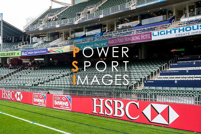 General Views during the Cathay Pacific / HSBC Hong Kong Sevens at the Hong Kong Stadium on 28 March 2014 in Hong Kong, China. Photo by Juan Flor / Power Sport Images