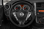 Car pictures of steering wheel view of a 2017 Nissan Versa-Note S-Plus 5 Door Hatchback Steering Wheel