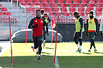 09 December 2016: Toronto's Justin Morrow. Toronto FC held a training session one day before playing in MLS Cup 2016 at BMO Field in Toronto, Ontario in Canada.