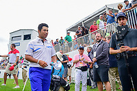 Hideki Matsuyama (JPN) departs 18 after winning Sunday's final round of the World Golf Championships - Bridgestone Invitational, at the Firestone Country Club, Akron, Ohio. 8/6/2017.<br /> Picture: Golffile | Ken Murray<br /> <br /> <br /> All photo usage must carry mandatory copyright credit (&copy; Golffile | Ken Murray)