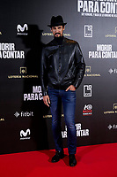Stany Coppet attends to 'Morir para contar' film premiere during the Madrid Premiere Week at Callao City Lights cinema in Madrid, Spain. November 13, 2018. (ALTERPHOTOS/A. Perez Meca) /NortePhoto.com
