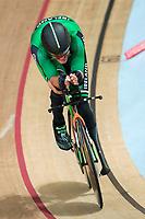 Picture by Alex Whitehead/SWpix.com - 23/03/2018 - Cycling - 2018 UCI Para-Cycling Track World Championships - Rio de Janeiro Municipal Velodrome, Barra da Tijuca, Brazil - Colin Lynch of Ireland competes in the Men's C2 1km Time Trial final.