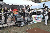 The Happening perform the Elks Club Octoberfest at the Apple Festival. Southington CT 4 October 2009.