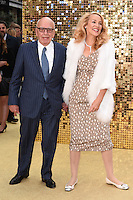 Rupert Murdoch and Jerry Hall<br /> arrives for the World Premiere of &quot;Absolutely Fabulous: The Movie&quot; at the Odeon Leicester Square, London.<br /> <br /> <br /> &copy;Ash Knotek  D3137  29/06/2016